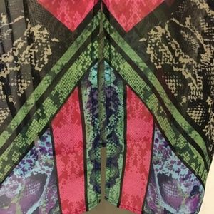 Bisou Bisou Tops - Bright Colored Bisou Bisou Sleeveless Tunic